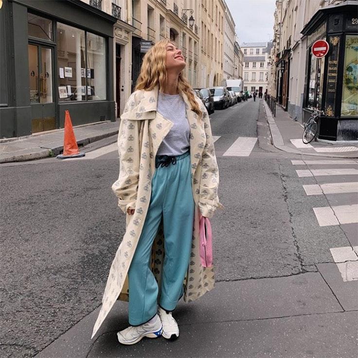 emilie sindlev estilo instagram zapatillas blancas ugly shoes