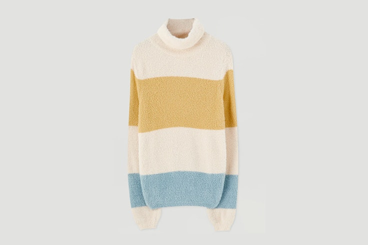 jersey de colores rayas pull and bear