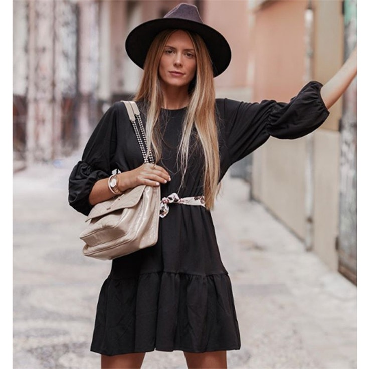 natalia coll vestidos negros