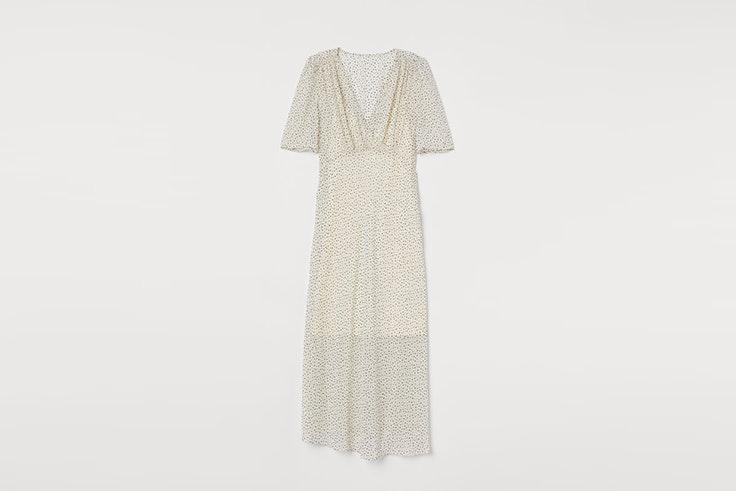 vestido blanco lunares hym vestidos estampados