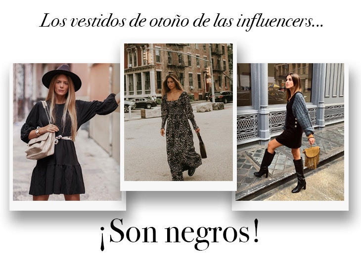 vestidos-otoño-influencers-negros