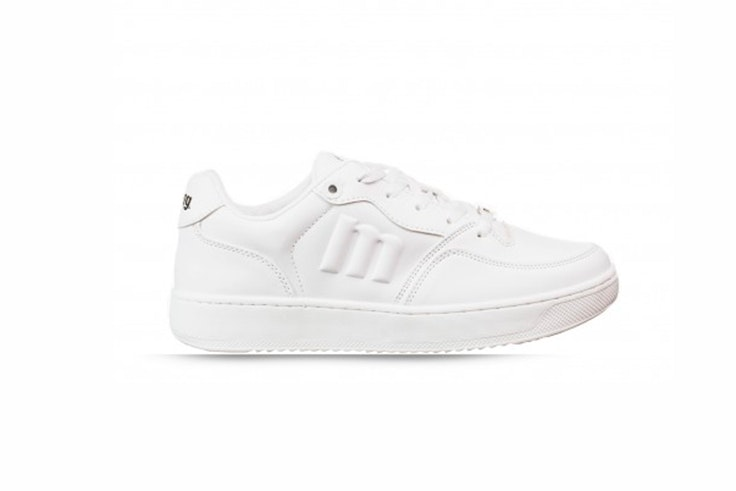 zapatillas blancas ugly shoes mustang rks