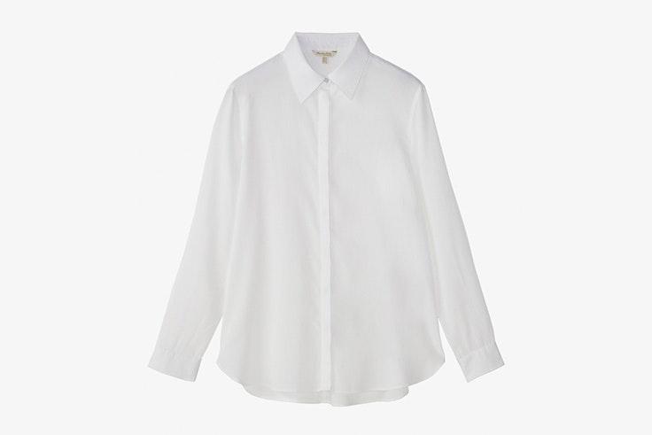 camisa blanca massimo dutti
