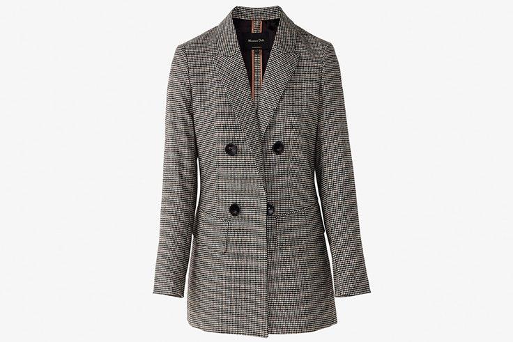 chaqueta americana cuadros massimo dutti