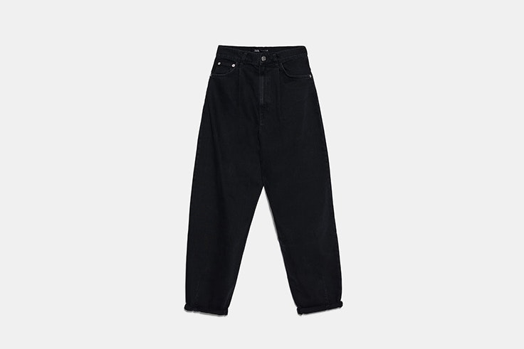 slouchy jeans de zara Black Friday 2019
