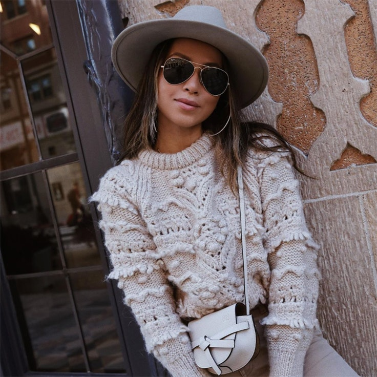 gafas de sol de invierno sincerelyjules julie sarinana