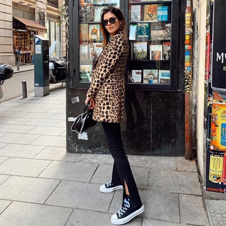 maría turiel estilo instagram chaqueta de leopardo