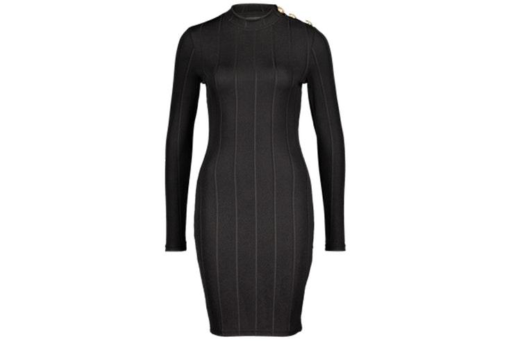 Vestido negro ajustado en color negro de New Yorker