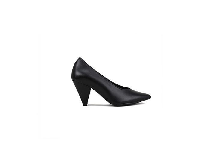 zapato negro de tacón de Krack Tina Rodríguez