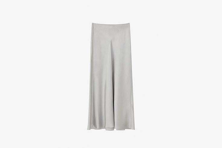 falda acabado metalizado de Massimo Dutti looks de fiesta
