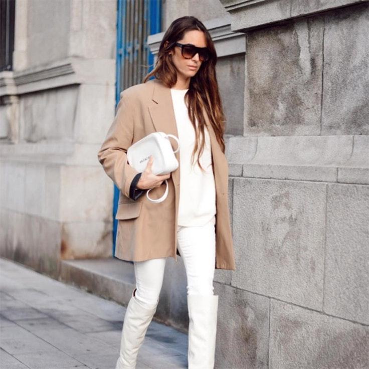 María Tilve blazers para entretiempo