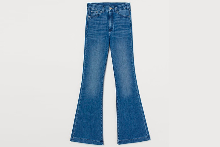 pantalones vaqueros campana hym