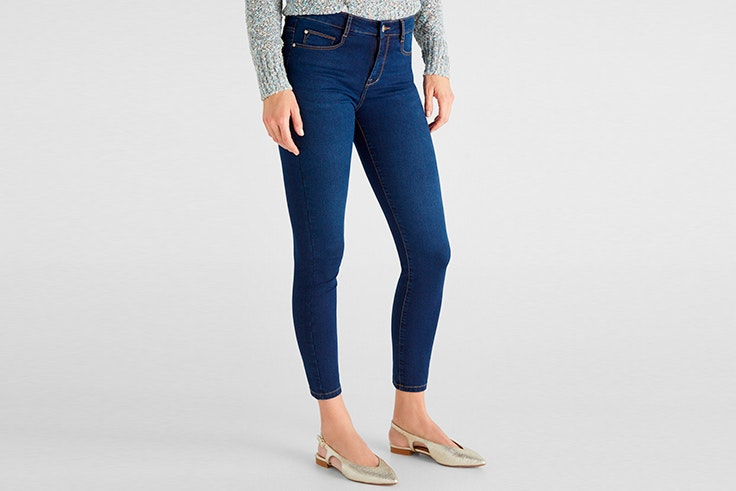 pantalones vaqueros pitillo cortefiel