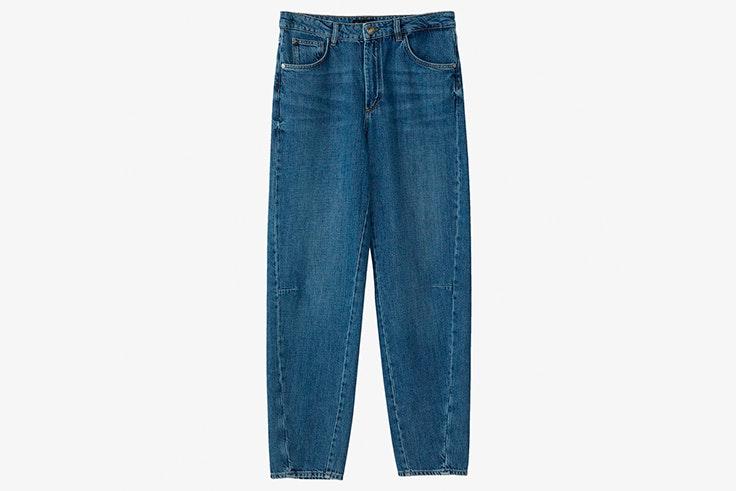 pantalones vaqueros recto massimo dutti