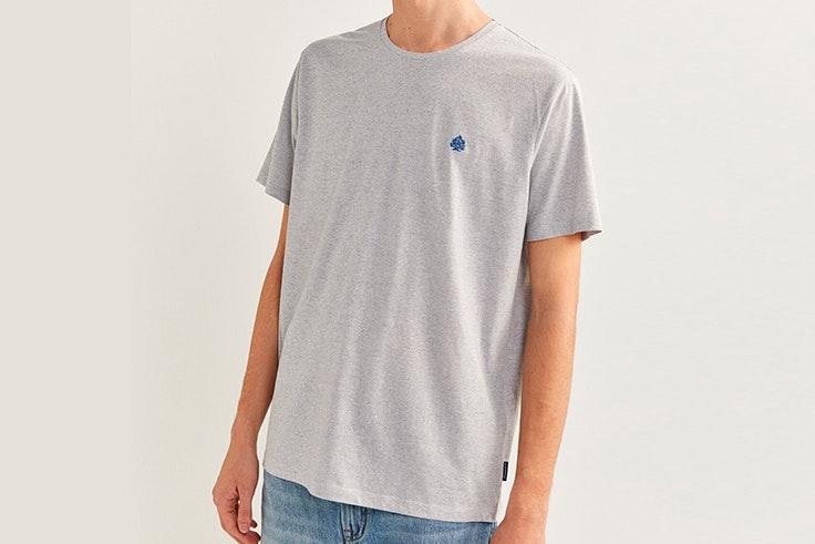 Camiseta gris de manga corta de Springfield