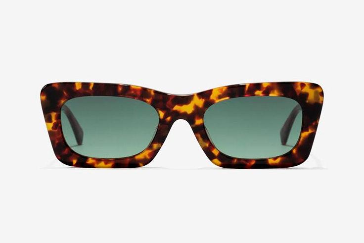 Gafas de sol rectangulares y marrones de Hawkers