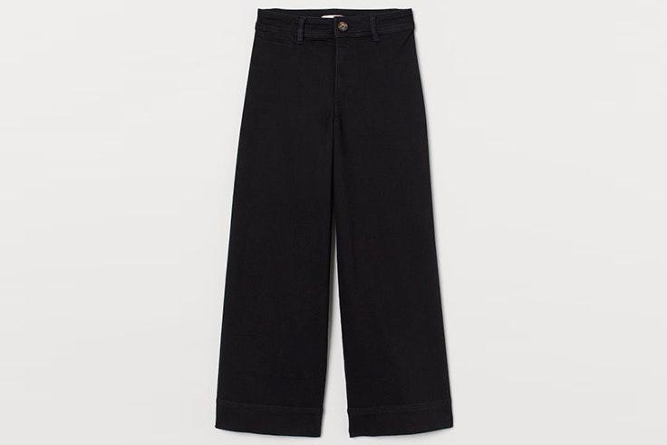 Pantalón de sarga en color negro de H&M