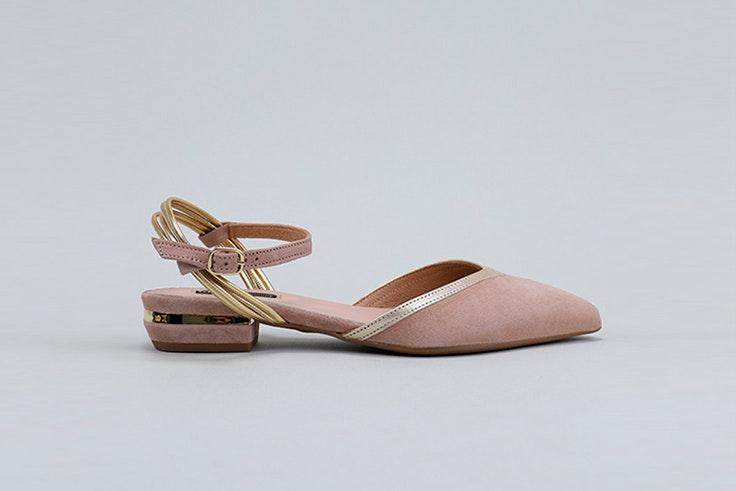 Zapatos planos en colores pastel de Krack