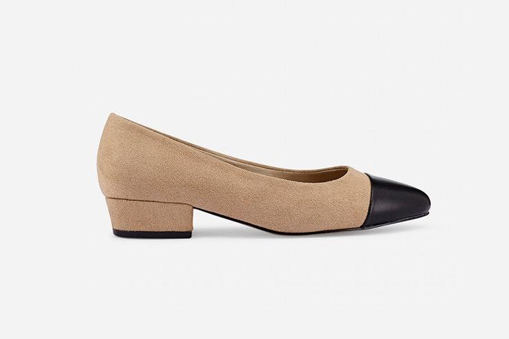 Zapatos con ligero tacón de Marypaz