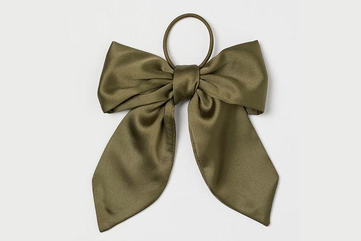 Lazo verde kaki para el pelo de H&M accesorios de verano