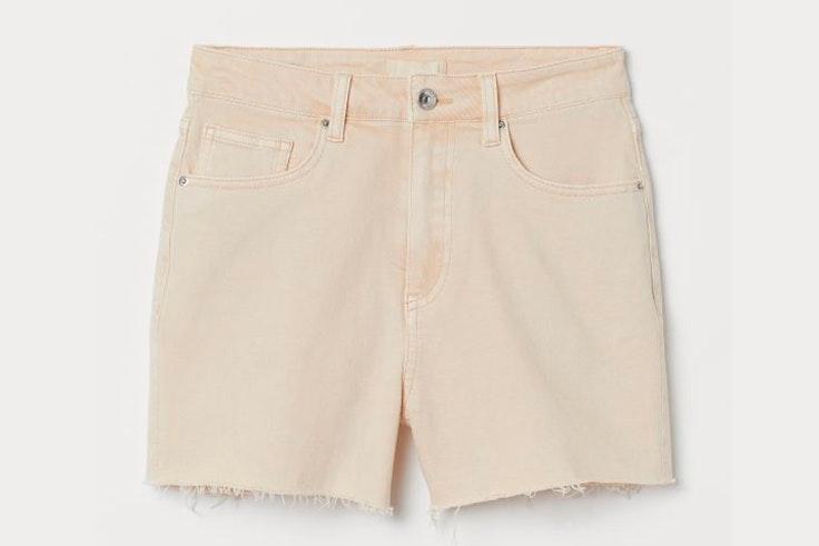 Short en color beige de H&M