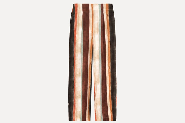Pantalón de rayas de colores de Oysho