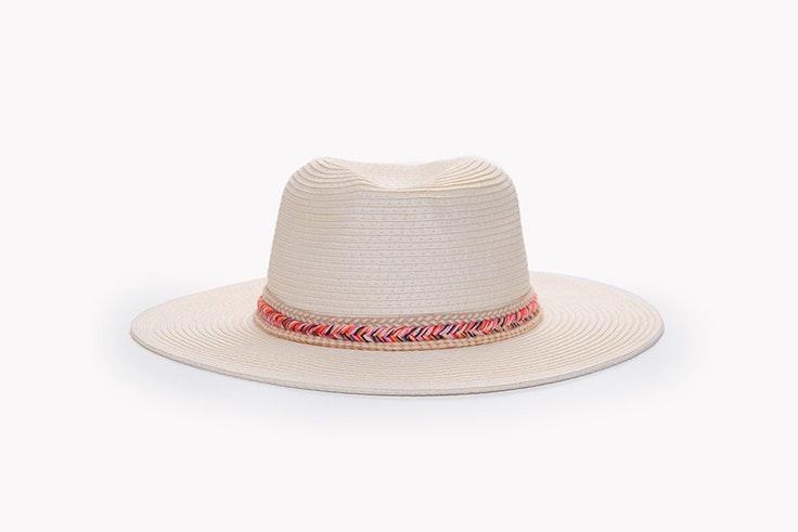 Sombrero de rafia de Paco Martínez