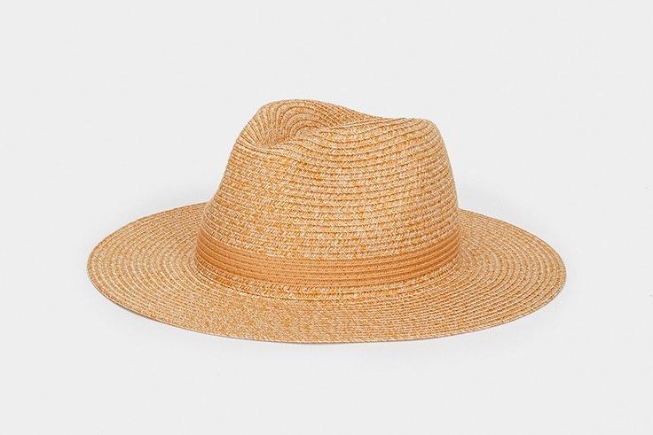 Sombrero de rafia en color natural de Parfois