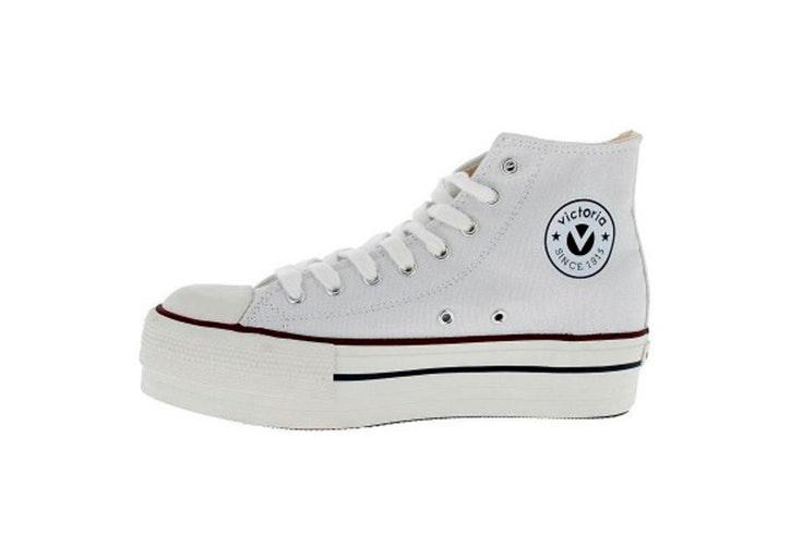 Zapatillas blancas con plataforma de Zap in