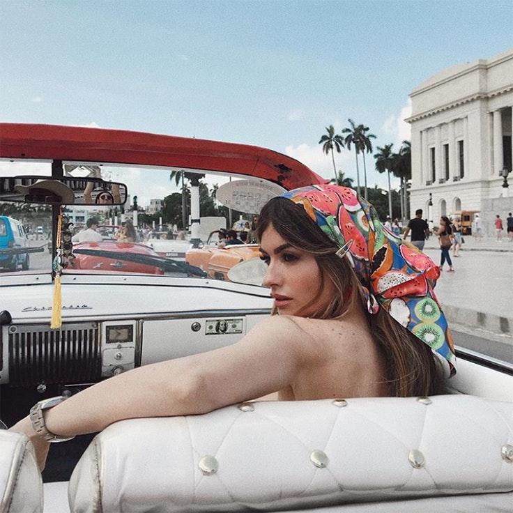 madame de rosa estampado tropical tendencia verano