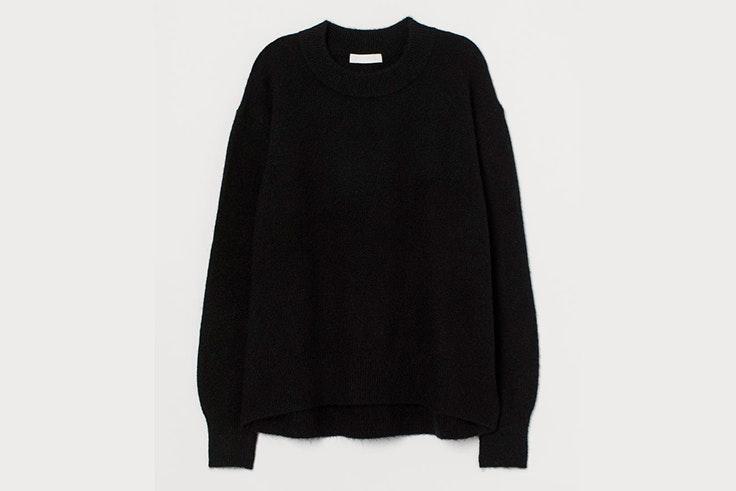 Jersey negro básico de H&M