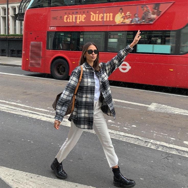 @emitaz emelie prendas de abrigo sobrecamisa