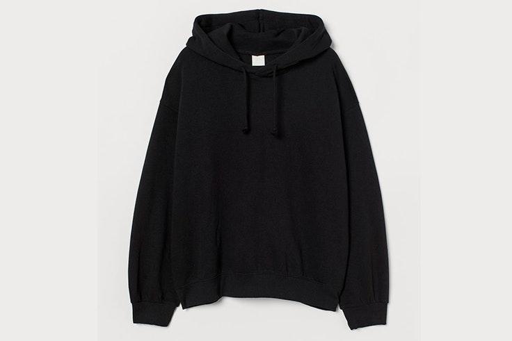 Sudadera negra de H&M