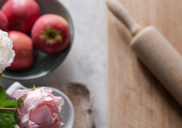 receta manzanas asadas