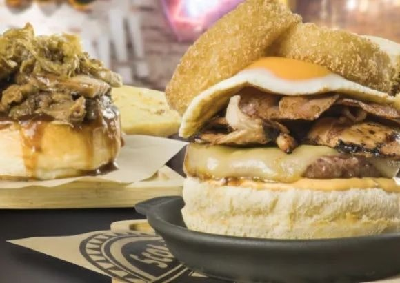pizza burger valle real