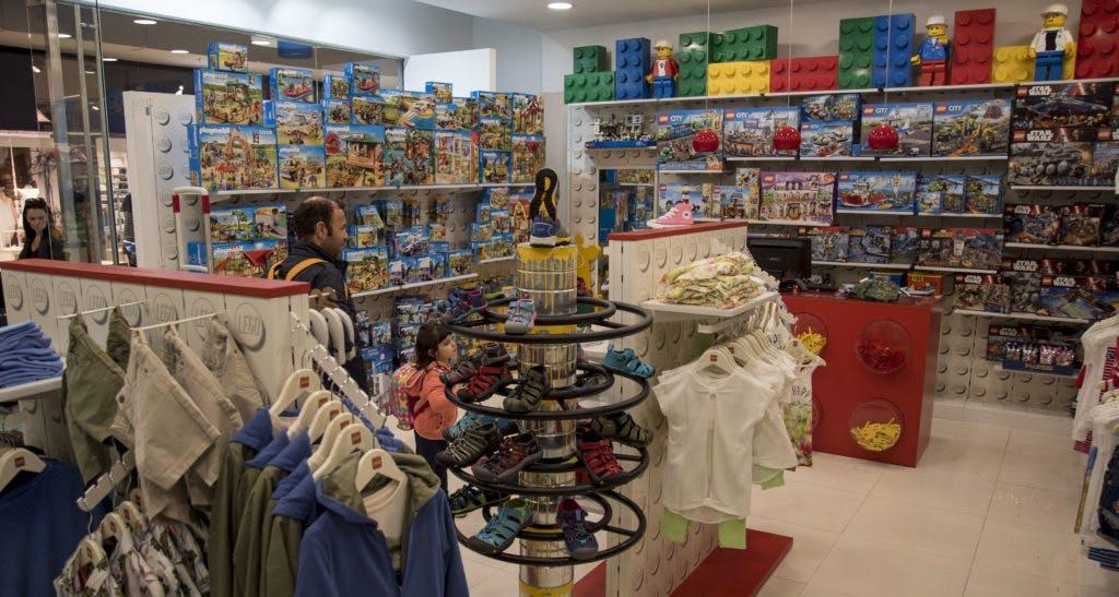 Lego Kids Wear, no piso 0