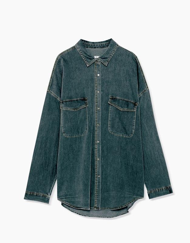Camisa Pull&Bear, antes a 17,99€ e agora a 9,99€