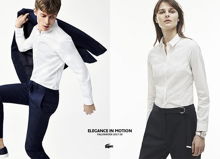 0b1d83f0d5444 Lacoste lança coleção de camisas para homem e mulher
