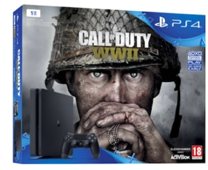 Consola PS4 1TB Black + Jogo Call of Duty WWII_349,99€