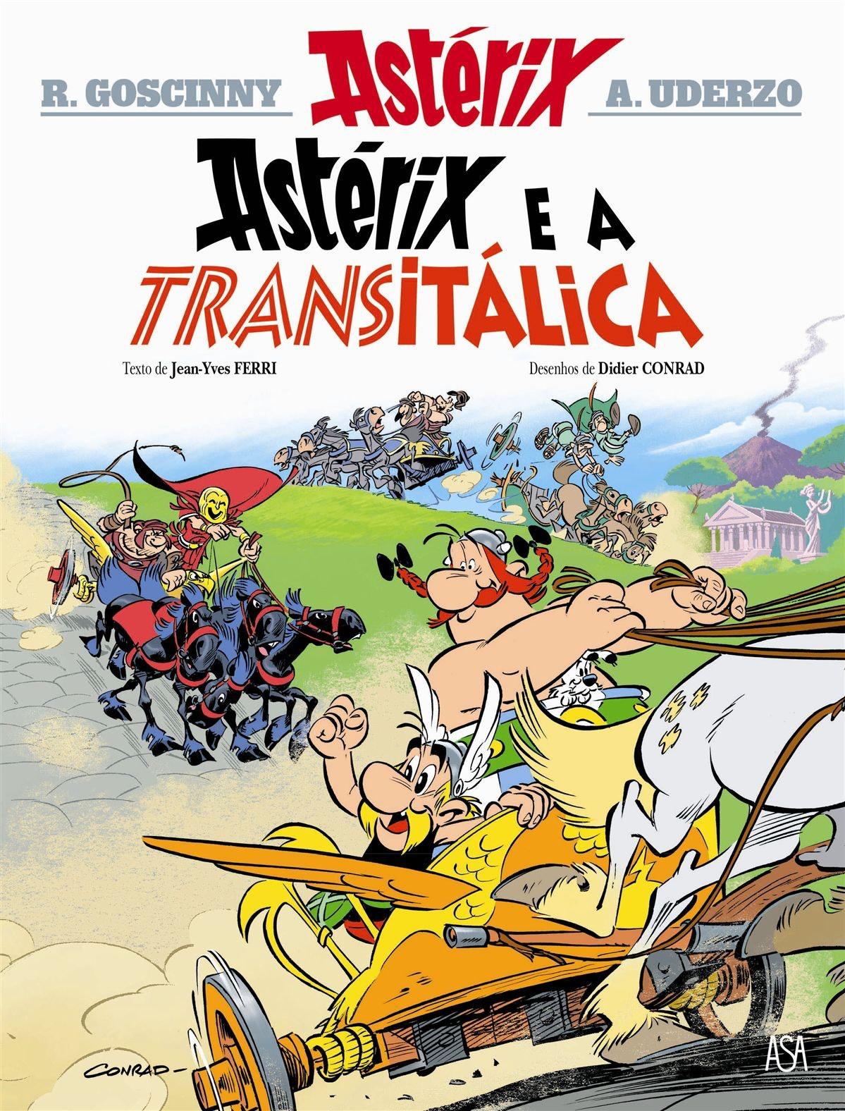 """""""Astérix e a Transitálica"""", Fnac, 9,81€"""