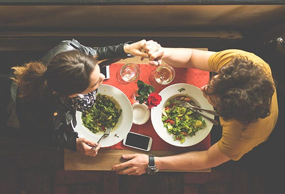 Dia dos Namorados: saiba onde jantar no nosso Centro