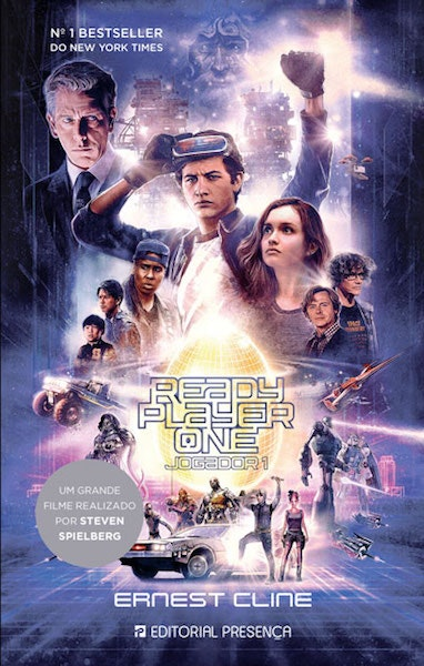 """Ready Player One"" de Ernest Cline, 18,90€"