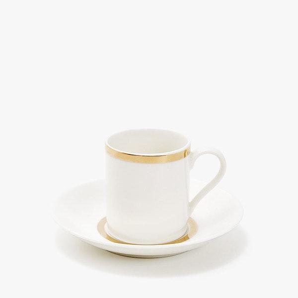 Chávena e prato Zara Home, 7,99€