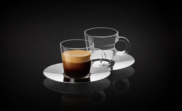 Chávenas e pratos (conjunto 2) Nespresso, 16€