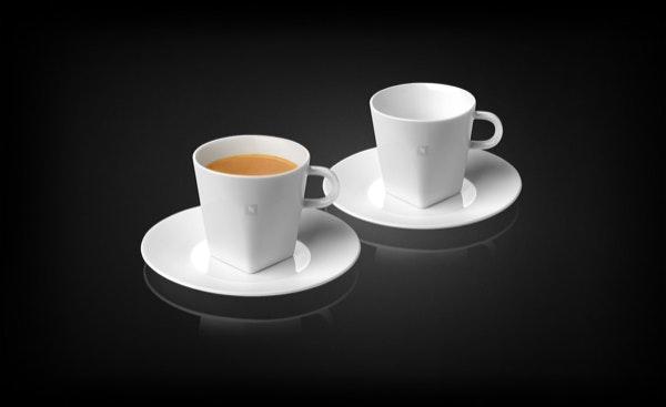Chávenas e pratos (conjunto 2) Nespresso, 24€