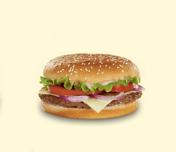 BURGER QUEIJO | Para amantes de queijo, com um sabor tão intenso quanto delicioso.