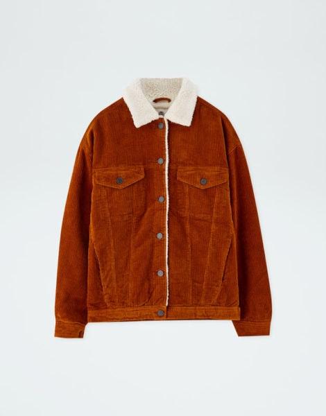 Blusão com pelo, Pull&Bear, 39,99€