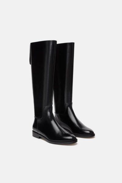 Botas cano alto, Zara, 49,95€