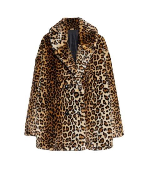 Casaco leopardo, Stradivarius, 59,99€
