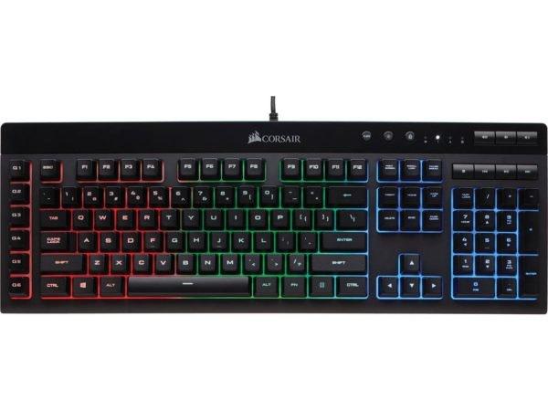 Teclado Gaming Corsair K55 RGB, 69,99€
